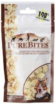 Purebites Freeze Dried Turkey Breast Cat Treats - 0.49 Oz.