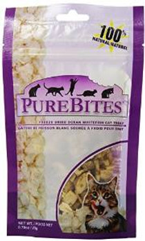 Purebites Ocean Whitefish 0.70oz/ 20g- Value Size Cat Treats