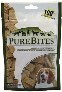 Purebites Beef/liver Freeze Dried Treats 2 Oz.
