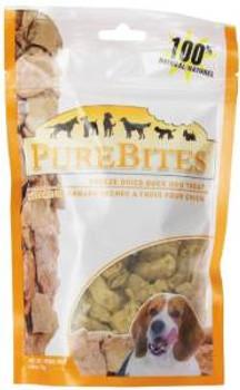 Purebites Duck Freeze Dried Treat 3 Oz. Each