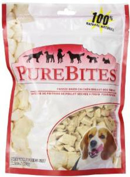Purebites Chicken Breast Freeze Dried Treats 6.2 Oz.