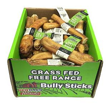 "Red Barn Bully Stick 5"" 50/case"