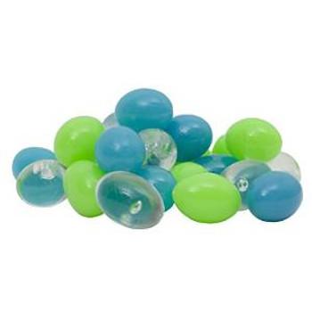 Tetra Glofish Accent Gravel Blue Green & Clear Pebbles
