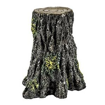 Tetra Glofish Tree Stump Ornament Small