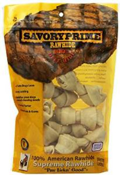 SavoryPrime Small Bone Value Pack White 4-5in 10pc