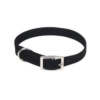 Coastal Single-ply Nylon Collar Black 5/8x16in