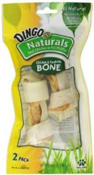 Dingo Naturals Small Bone 2 Pk