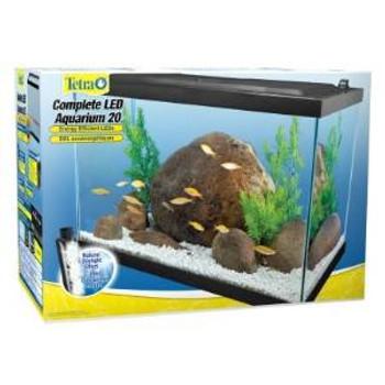 Tetra Deluxe Led Aquarium Kit 20 gallon SD-X Free Store Pick Up - NO SHIPPING
