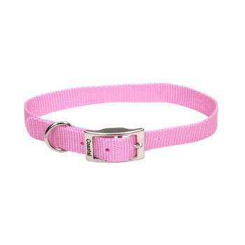 Coastal Single-ply Nylon Collar Bright Pink 3/4x18in
