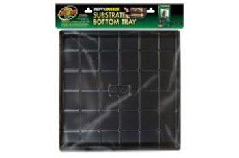 """Zoo Med Reptibreeze Substrate Bottom Tray 18""""x18""""x2"""""""