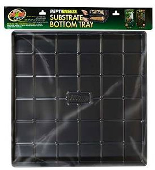 """Zoo Med Reptibreeze Substrate Bottom Tray 24""""x24""""x2"""""""