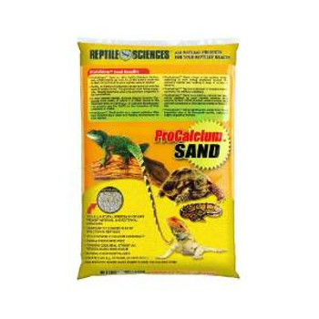 World Wide Imports Reptile Sciences Pro-calcium Sand Yellow 10lb