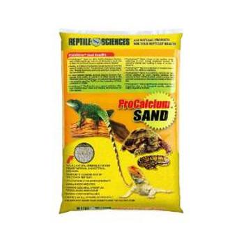 World Wide Imports Reptile Sciences Pro-calcium Sand Bright Yellow 10lb