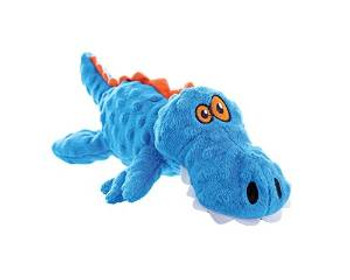 WORLDWISE Godog Just For Me Blue Gator With Chew Guard