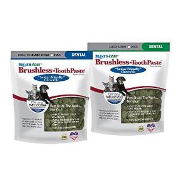 Ark Naturals Gray Muzzle - Breathless Brushless Toothpaste Small/medium Senior Dogs 4.1z