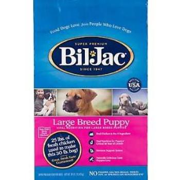 Biljac Dry Lg Brd Pup Fd 30 Lbs