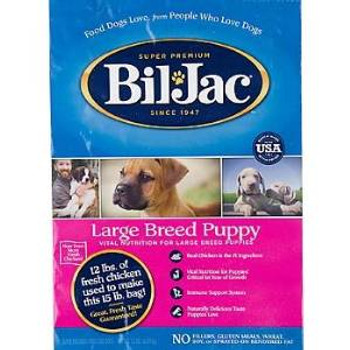 Biljac Dry Lg Brd Pup Fd 15 Lbs