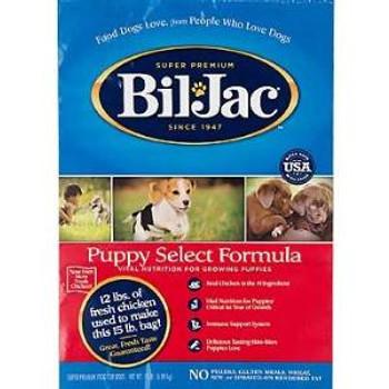 Biljac Dry Pup Fd 15 Lbs