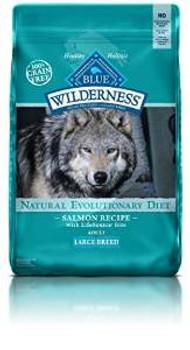 Blue Buffalo Wldns Gf Slm Lg Brd Dog 24 Lbs
