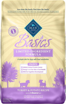 """BLUE Basics Turkey Recipe is a limited-ingredient diet formulated to minimize food sensitivities that some cats experience while maximizing the nutritional value they receive.Features. Tasty protein-rich Deboned Turkey.. Easily-digestible carbohydrat"""""""