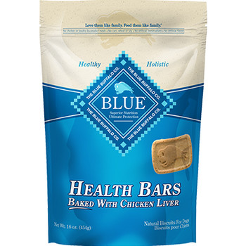BLUE BUFFALO DOG BAR CHICKEN LIVER 16OZ