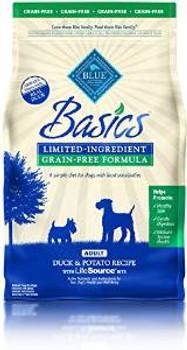 Blue Buffalo Bsc Gf Dck Adlt Dog 4 Lbs Case of 6
