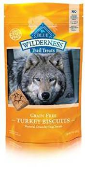 Blue Buffalo Wldns Tky Bisc Dog 10z Case of 6