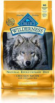 Blue Buffalo Wldns Hlthy Wgt chicken  4.5 Lbs Case of 5