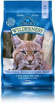 Blue Buffalo Wldns Indr chicken  Cat 2 Lbs Case of 6