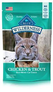 Blue Buffalo Wldns chicken /trout Cat 2z Case of 12