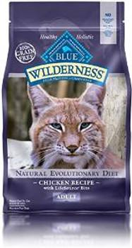 Blue Buffalo Wldns chicken  Adlt Cat 6 Lbs Case of 5