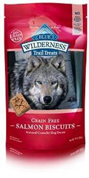 Blue Buffalo Wldns Slm Bisc Dog 10z Case of 6