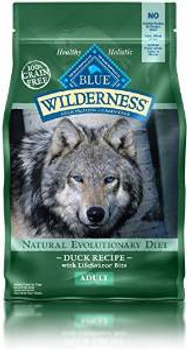 Blue Buffalo Wldns Dck Dog 4.5 Lbs Case of 5