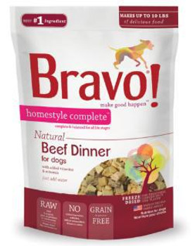 Bravo! Homestyle Complete Beef Dinner 3oz