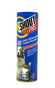 Shout! Pets Turbo Oxy Carpet Odor Eliminator Powder, 18oz