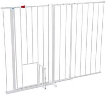 Carlson Maxi Extra Tall Walk Through Gate W/pet Door