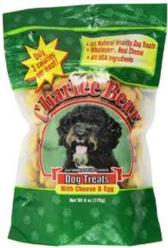 Charlee Bear Cheese/egg Dog Treat 6 Oz.