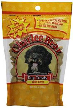 Charlee Bear Liver Dog Treats 6 Oz.