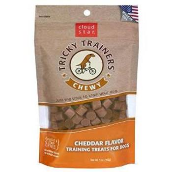 Cloud Star Chewy Tricky Trainers Cheddar 5 Oz.