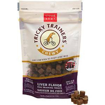 Cloud Star Chewy Tricky Trainers Liver 5 Oz.