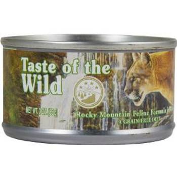 Taste of the Wild Rocky Mtn Feln Can 24/3z
