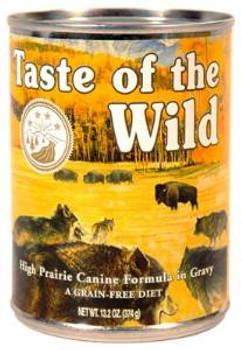 Taste of the Wild High Prair Can Dog 12/13.2z