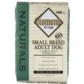 Diamond Nat Lmb/rc Sm Brd Dog 18 Lbs