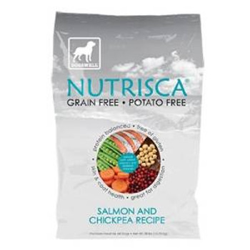 Dogswell Food Nutrisca Salmon & Chickpea 28 Lb.