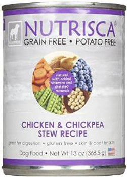 Dogswell Nutrisca Chicken & Chickpea 12/13 Oz. Can