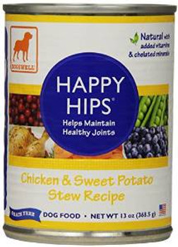 Dogswell Happy Hips Chicken & Sweet Potato 12/13 Oz.