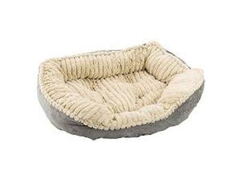 "Ethical Sleep Zone 26"" Gry Plsh Bed"