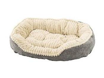 "Ethical Sleep Zone 32"" Gry Plsh Bed"