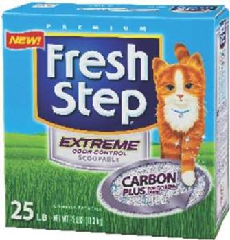 Ever Clean Fresh Step Xtreme Odor Scp 25 Lbs