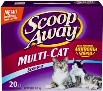 Ever Clean Everclean Scoop Away Multi Cat 20 Lb.